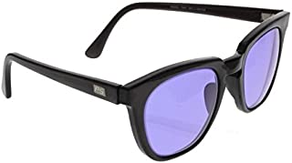 Ace Didymium Glass Working Spectacles in Reinforced Economy Plastic Safety Frame - 50mm Eye Size
