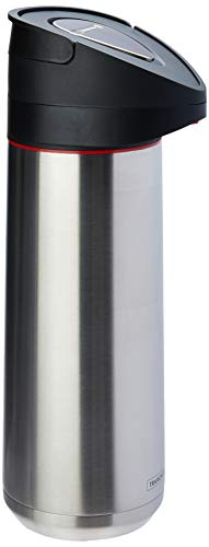 Garrafa Térmica em Aço Inox com Ampola de Aço Tramontina Exata Prata 2l