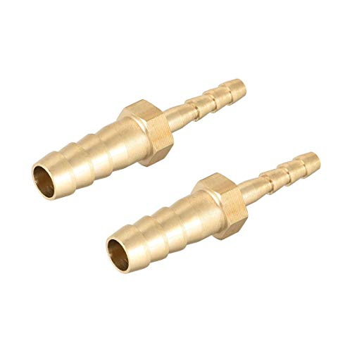 Reduzierstück aus Messing, 8 mm auf 4 mm, Verbindungsstück, Verbindungsstück,...