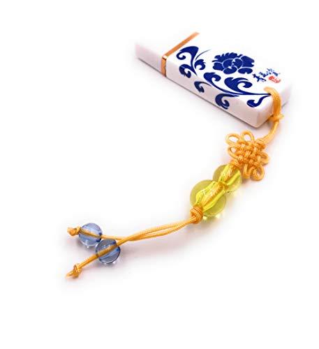 Onlineworld2013 Ciondolo in porcellana Cina simbolo viticcio fiore Divertente chiavetta USB da 8 GB USB 2.0