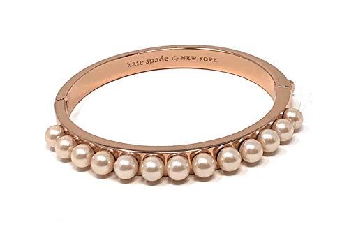 Kate Spade New York Pearly Delight Bangle Bracelet Rose Gold
