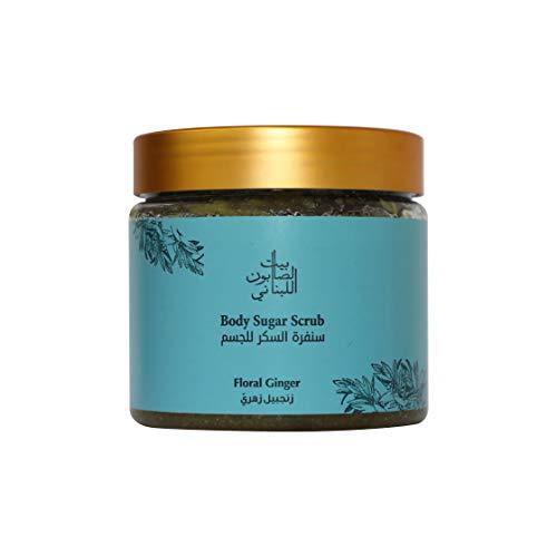 Bayt Al Saboun Al Loubnani Body Sugar Scrub – Floral Ginger