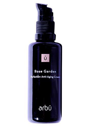 ARBŪ Crema facial facial Rose Garden Perfection antiedad, orgánica, para mujer