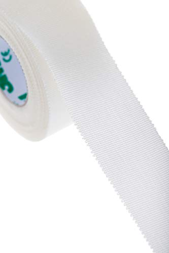 "3M Durapore First-Aid Medical Tape - Silk-Like Cloth, Irritation Free - 1"" X 10 Yd - (2 Pack)"