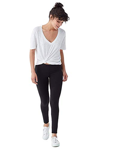 Splendid Women's French Terry Legging Pants (Black, L)