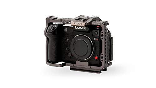 (Tilta Gray) Tilta TA-T38-FCC-G Full Camera Cage Cámara Jaula para Tiltaing Panasonic LUMIX S1 S1R S1H S Series – (S Series Full Cage)