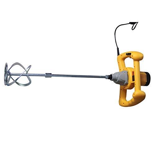 Mortel Mixer, Ergonomische Bouw, Paddle Mixer Boor, krachtige hand-held Cement Opruier, variabele snelheid mengen Tool, for het mengen van Gips/Verf/mortel/lijm/Adhesive 8bayfa