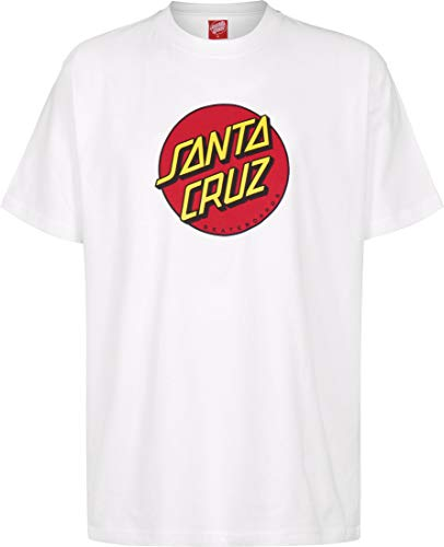 Santa Cruz Camiseta Classic Dot Blanco M (Medium)