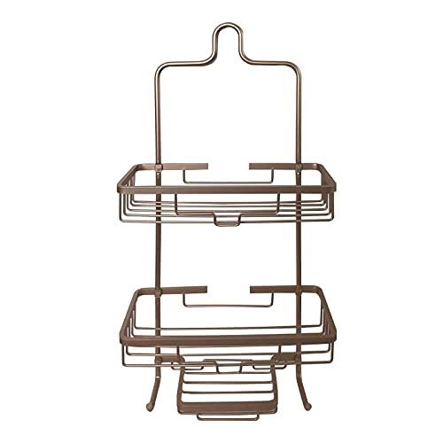 FFAN Carrito de Ducha Organizador de Cabezal de Ducha Colgante para baño, Bronce (28 X 12,5 X 59 cm) (Color: Dorado) (Color: Dorado) Good Life