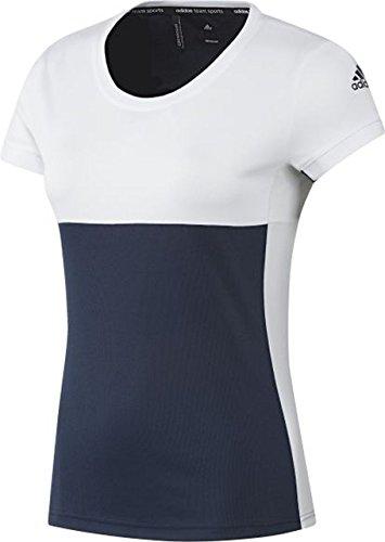 adidas Damen Oberbekleidung T16 Clima Short Sleeve Tee, dunkelblau, XS, AJ8781