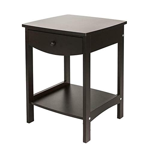 Best Review Of TimmyHouse Bedside Furniture Hot Night Stand Bedroom End Table Drawer Sturdy Storage ...