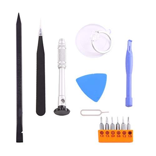 CHGXE Kit herramientas de reparación electrónica, Reparación FUNFIX herramienta 14 en 1...