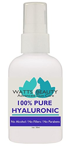 Anti Aging Wrinkle Serum of 100% Pure Hyaluronic Acid for Face - No Alcohol, No Parabens, Vegan & USA - HA Is Not a Harsh Acid, HA is Present in Every Area of Our Body and Simply Decreases with Age Causing Sagging, Wrinkles, Dry Skin & Fine Lines - 2oz Dr