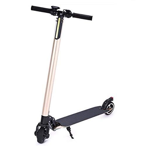s-idee® Elektro Scooter mit Einer Höchstgeschwindigkeit bis 23km/h 4.4Ah Batterie, Faltbar für leichten Transport, LED Front Licht, Belastbar bis 120 Kg