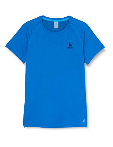 Odlo Active T-Shirt Manches Courtes Homme, Energy Blue, FR : S (Taille Fabricant : S)