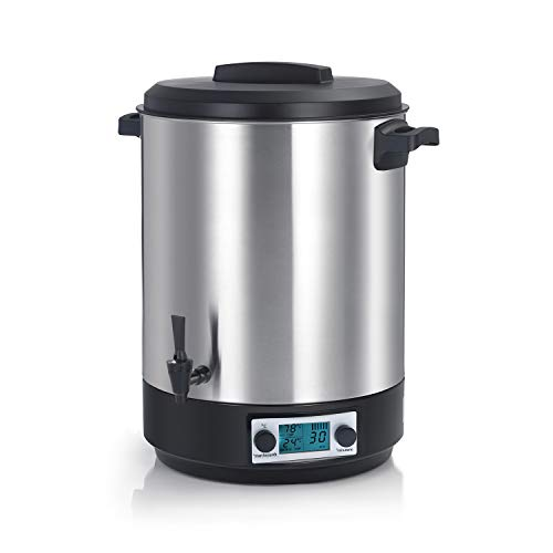 Robby - steri pro inox 45l lcd - Stérilisateur électrique lcd avec robinet et minuteur 45l 2500w inox