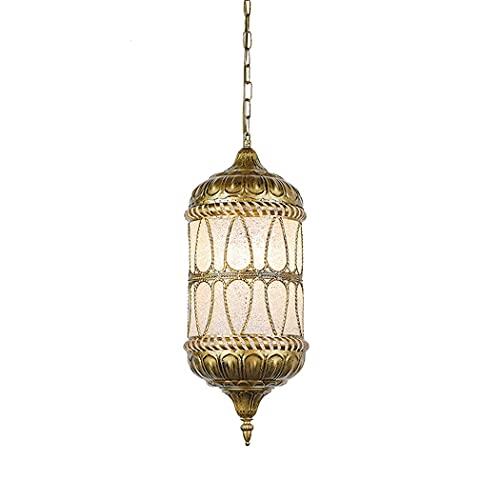 Ye Wang Linterna marroquí Candelabro Turco Tiffany Pantalla de luz Colgante Mosaico árabe Vintage Iluminación de Techo Sala de Estar Dormitorio Comedor Cocina Decoración Lámpara Colgante E27