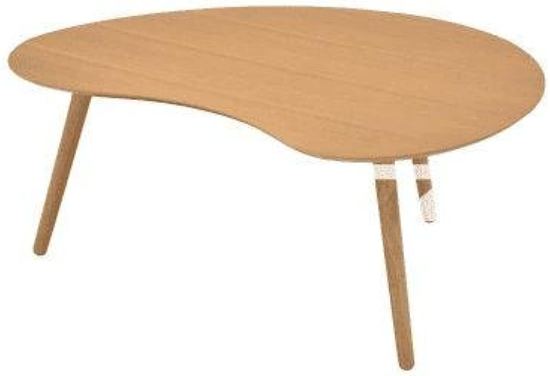 Art Curved Coffee Table - Oak