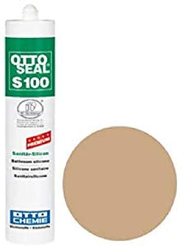 OttoSeal S100, das Premium- Sanitär- Silicon, 300ml Farbe: C10 BAHAMABEIGE