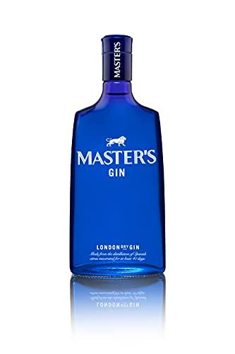 6. Master's – Ginebra azul London Dry de 700 ml con 40% de alcohol