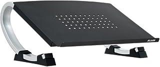 Allsop Redmond Adjustable Laptop Stand, Vented Curved Sturdy Metal Ergonomic Riser (30498)