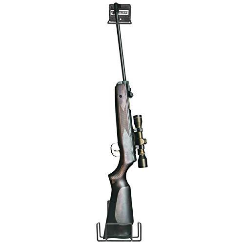 Si adatta praticamente tutti i fucili e fucili Hardware di montaggio incluso e monta praticamente a qualsiasi superficie solida In metallo rivestito in vinile protegge la finitura della pistola Inferiore stock porta misure 6.75x 2.75x 6.'Larghezza ...