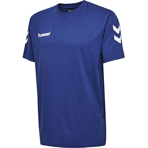 Hummel Kinder T-shirts Hmlgo Kids Cotton, schwarz (Schwarz), 164 (2XL)