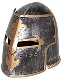 Nicky Popular brand Bigs Novelties Medieval Knight Helmet Costume Headwear Acc Sales for sale
