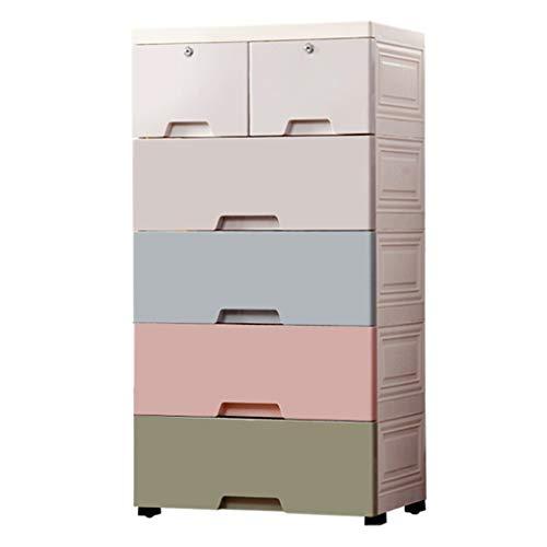 Armoires de Rangement de Rangement à tiroir épais boîte de Rangement pour la Maison en Plastique à la Mode boîte de Rangement pour la Chambre à Coucher de Rangement