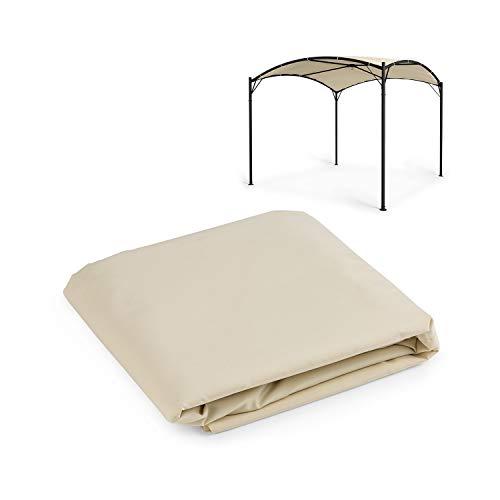 blumfeldt Castello - Tettuccio Parasole per Gazebo, Dimensioni: 350x350cm (LxP), Parasole in Poliestere, Protezione da Raggi UV e Pioggia, Idrorepellente, FlexMood Concept: Tetto Sostituibile, Beige