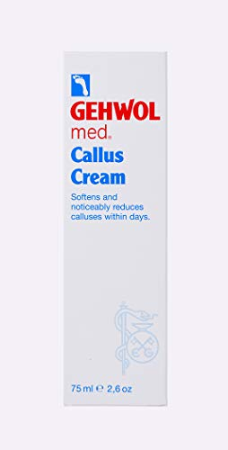 Gehwol Eelt Crème - Zichtbare vermindering van eelt - Voetverzorging - Tube 75ml