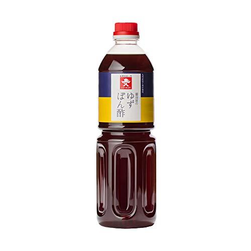 【常温】 ジョーキュウ 醤油屋のゆず ぽん酢 1L ゆずぽん酢 果実酢 業務用