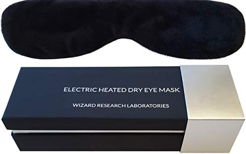 DRY EYE MASK Wizard Research PATENT PENDING HEATED DRY EYE MASK - MGD - Blepharitis - Dry Eye Relief - Optometrist Recommended
