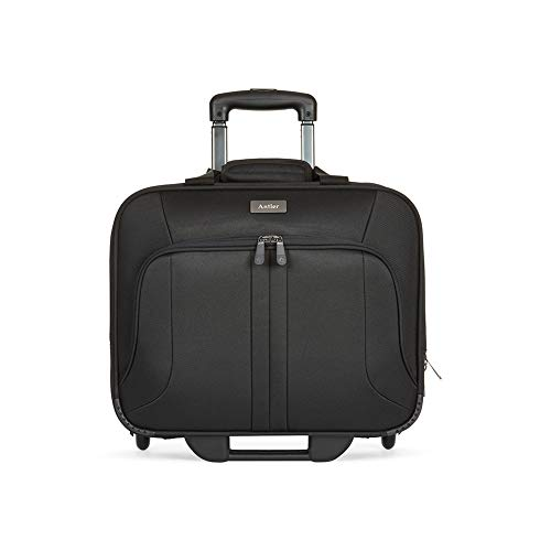 Antler Business 200 Wheeled Laptop Bag | Document Bag With Wheels | Laptop Case on Wheels | Pilot Case | Trolley Bag | Computer Bags for Laptops | Travel Bag | Luggage Bags | Office / Work Bag