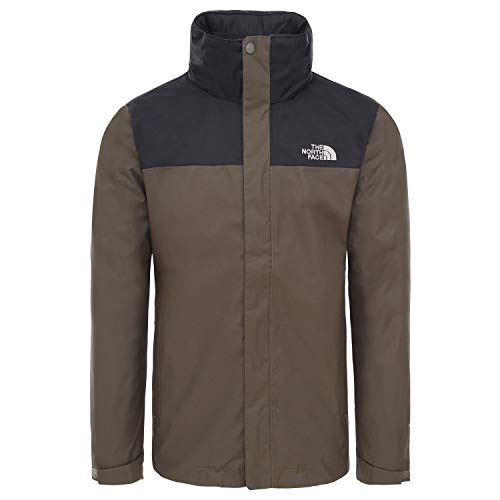 The North Face Evolve II Triclimate, Giacca Impermeabile Uomo, Verde (New Taupe Green), S