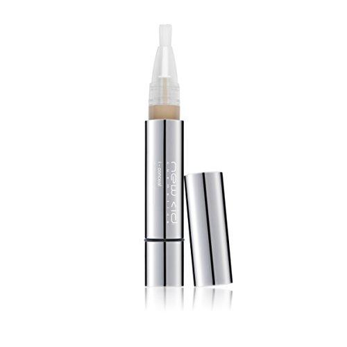 New CID Cosmetics, i-conceal, Correttore liquido con pennello, Medium Dark