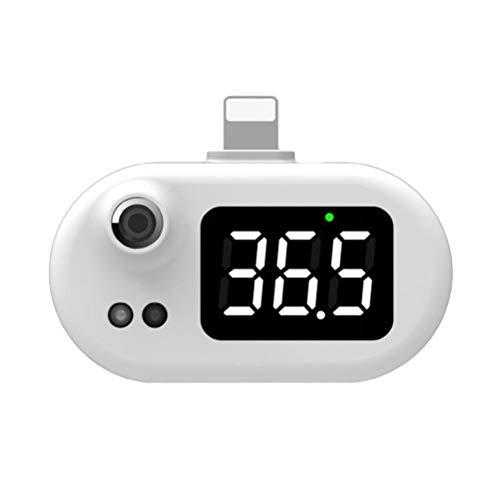 Atrumly Smart Thermometer, tragbares Mini-Handy-Thermometer, berührungsloses Infrarot-USB-Thermometer, berührungsloses tragbares klinisches Thermometer