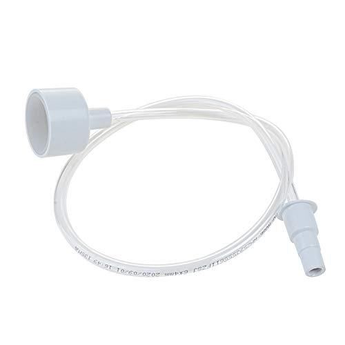 Hottche PU Kitchen Vacuum Attachment Kit Vacuum Sealer Accessory Hose,White (1pcs Pack)