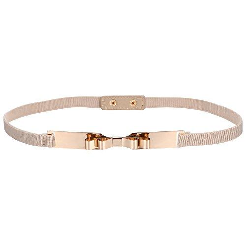 BABEYOND Cintura per Vestito Donna Cintura Decorativa in Vita Alta Cintura Elegante Elastica Donna Cintura Metallo Donna (Style-9-1)
