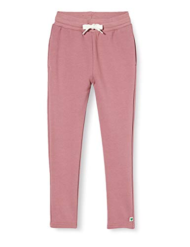 Fred's World by Green Cotton Girls Sweatpants Slim Pants, Shadow, 128