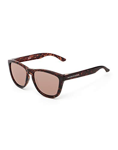 HAWKERS Gafas de sol, Carey · Rose Gold TR18, One Size Unisex-Adult