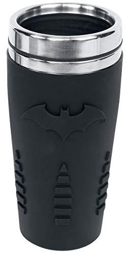 Batman Thermobecher, Edelstahl, Mehrfarbig, PP4380BM, 9 x 9 x 18 cm