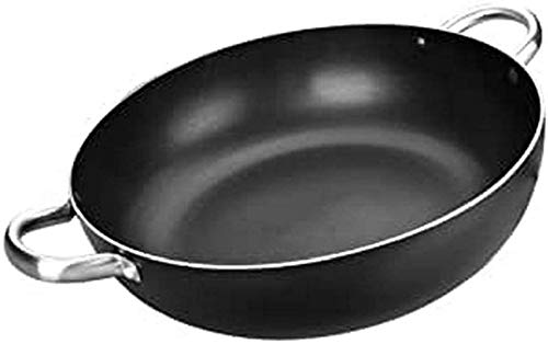 Ibili 403340 Poêle profonde avec anses I-Chef 40 cm Aluminium