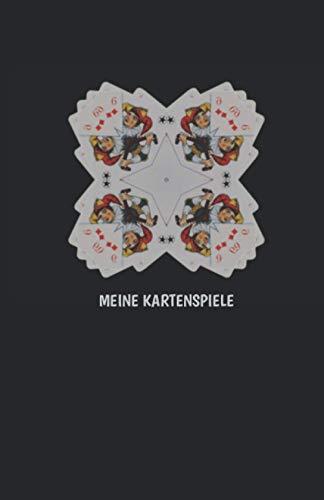 universal Kartenspiel Block - Meine Kartenspiele: Ergebnisbuch mit 100 Punktelisten für SKAT, Canasta, Doppelkopf, Romme, Schafkopf u.v.m.