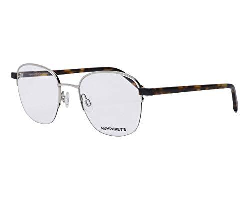 Humphrey's Brille (582305 00) Metall - Plastik silber - havana