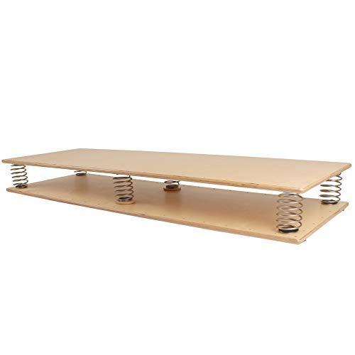 pedalo Federbrett 1800 I Gleichgewichtstrainer I Balance Board I Koordination I Functional Training I Propriozeption