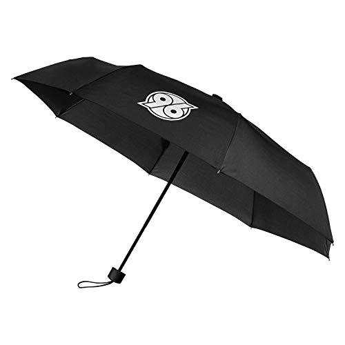 Hannover 96 Regenschirm Logo Schwarz