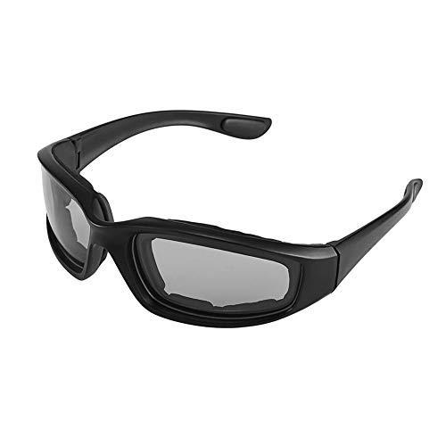 Bweele Gafas de Sol de Motocicleta, a Prueba de Viento Lente polarizada Gafas de Sol de Motocicleta Cabalgatas Ciclismo Biker Deportivo Envoltura para Bicicleta Moto Senderismo Deporte al Aire Libre