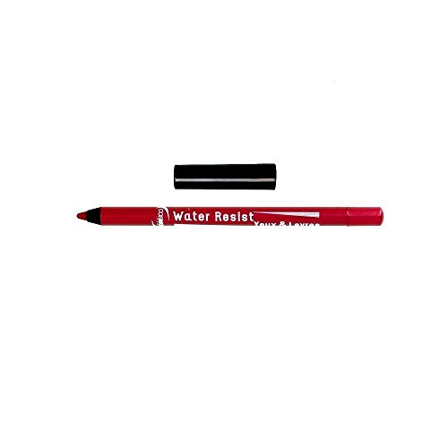 COSMOD - Maquillage Crayon Water Resist Lèvres & Yeux Made in France Rubis