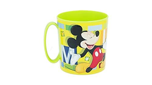 3531; taza microondas Mickey Mouse; producto reutilizable; apto para microondas. No BPA; capacidad 350 ml